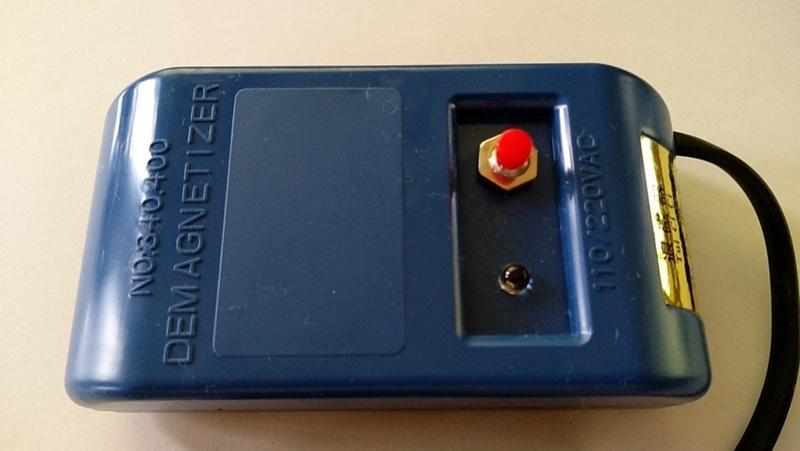 ネットでよく見る青い本体の磁気抜き器
