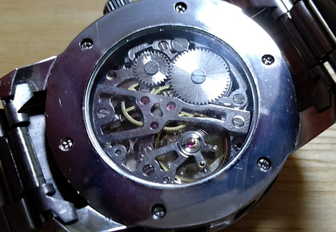 SEWOR機械式手巻き腕時計