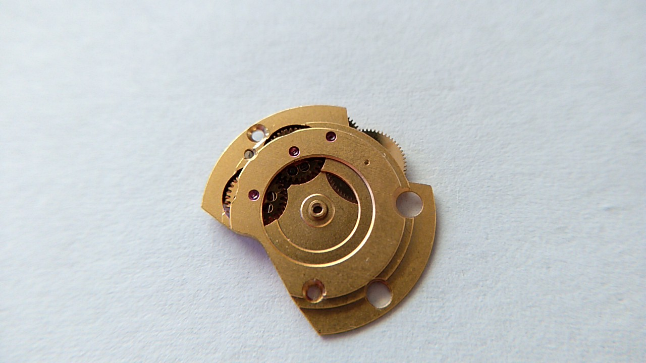 自動巻きの時計部品
